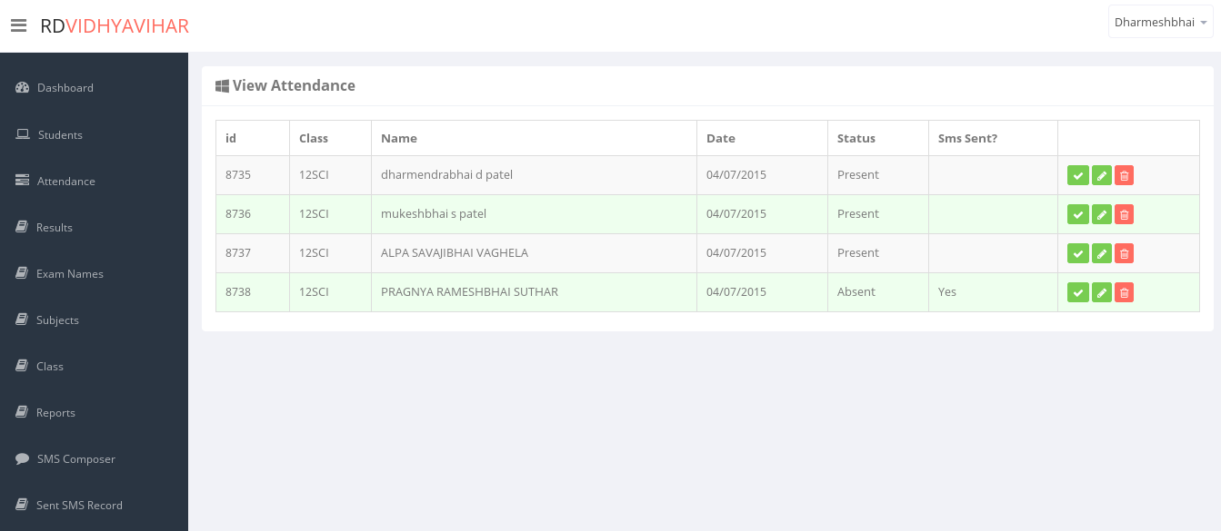 Student Management System – AppInitial
